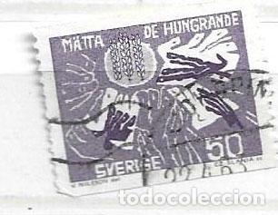 1963- SUECIA. LUCHA CONTRA EL HAMBRE. (Sellos - Extranjero - Europa - Suecia)