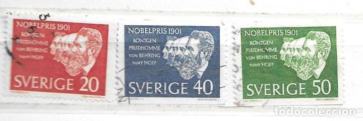 1964-SUECIA. GANADORES PREMIO NOBEL 1901 (Sellos - Extranjero - Europa - Suecia)
