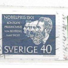 Sellos: 1964-SUECIA. GANADORES PREMIO NOBEL 1901. Lote 217694817