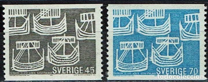 SUECIA 1969 - NORDIC ISSUE (Sellos - Extranjero - Europa - Suecia)