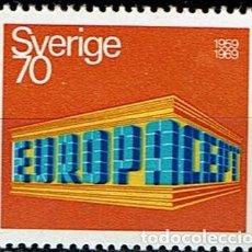 Sellos: SUECIA 1969 - EUROPA. Lote 217830050