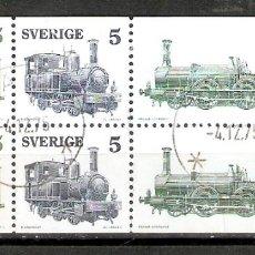 Selos: SUECIA. 1975. YT 892/894.TRENES. LOCOMOTORAS.. Lote 219004326
