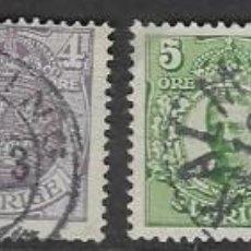 Sellos: SELLOS USADOS DE SUECIA 1910, YT 55/ 60, FOTO ORIGINAL. Lote 221236867