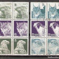 Timbres: SUECIA. 1973 .YT 796/801. FAUNA.. Lote 222104043