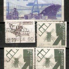 Francobolli: SUECIA. 1971 .YT 7690/692. Lote 222108301