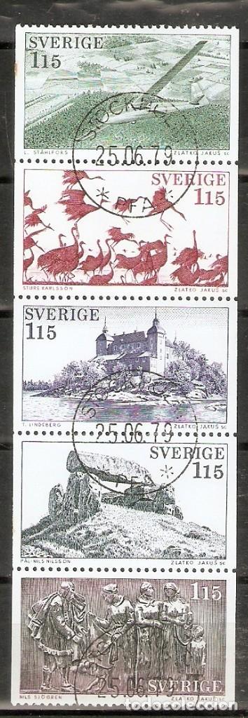 SUECIA. 1978. YT 1011/1015 (Sellos - Extranjero - Europa - Suecia)