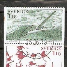 Sellos: SUECIA. 1978. YT 1011/1015. Lote 222242205