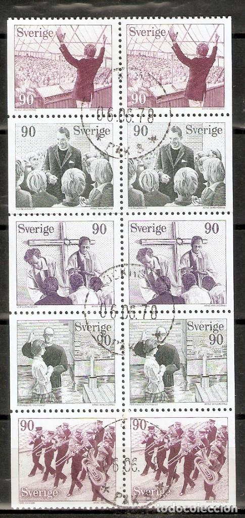 SUECIA. 1978. HOJA DE CARNET YT C999. YT 999/1003 (Sellos - Extranjero - Europa - Suecia)