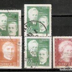 Sellos: SUECIA. 1971 .YT 713/715. Lote 222243988