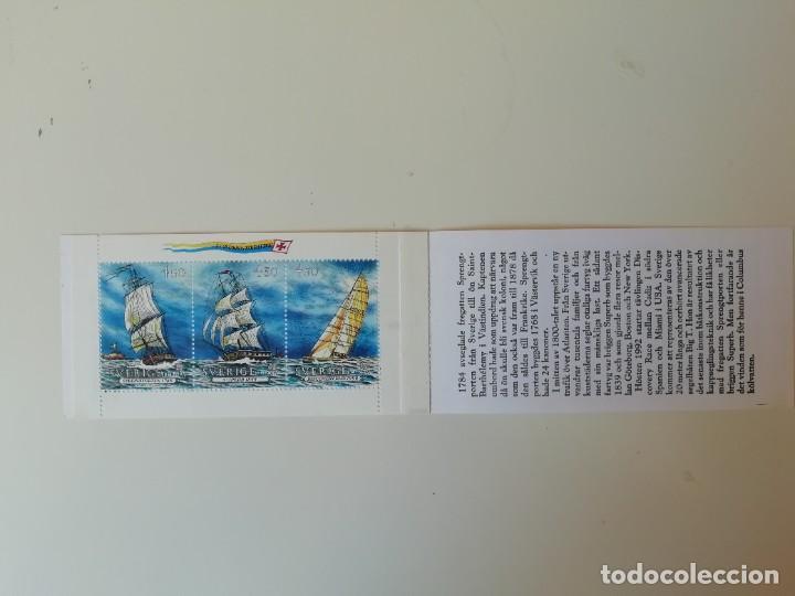 CARNET BARCOS SUECIA (1) (Sellos - Extranjero - Europa - Suecia)