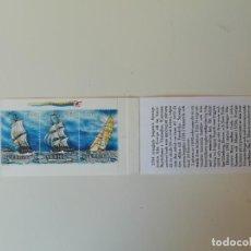 Sellos: CARNET BARCOS SUECIA (1). Lote 224758051