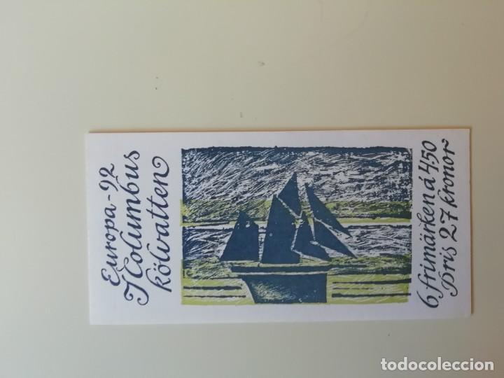Sellos: Carnet barcos Suecia (1) - Foto 2 - 224758051