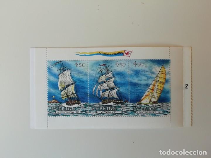 Sellos: Carnet barcos Suecia (2) - Foto 3 - 224758743