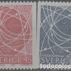 Selos: LOTE 12-SELLOS SUECIA SERIE NUEVA SIN CHARNELA. Lote 228578205