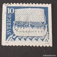 Selos: SUECIA, 1973, BARCO VIKINGO, SCOTT 955, YVERT 463, USADO, ( LOTE AG). Lote 228898865