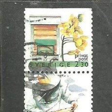 Sellos: SUECIA 1990 - YVERT NRO. 1599-1600 - USADO. Lote 232730845