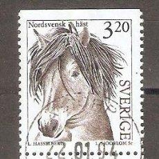 Selos: SUECIA. 1994. YT 1788,1789. FAUNA.CABALLOS. Lote 234435200