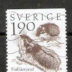 Selos: SUECIA.1994. YT 1256A. FAUNA. Lote 234435265