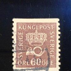 Sellos: SUECIA SVERIGE, 60 ORE, KUNGE POST , AÑO 1930.. Lote 236782670