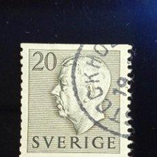 Sellos: SUECIA SVERIGE, 20 ORE, GUSTAF IV. AÑO 1950.. Lote 236783395