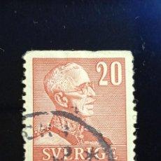 Sellos: SUECIA SVERIGE, 20 ORE, GUSTAF IV. AÑO 1939.. Lote 236784515