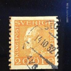 Sellos: SUECIA SVERIGE, 20 ORE, GUSTAF V. AÑO 1932.. Lote 236787330