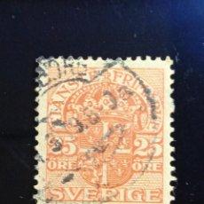 Sellos: SUECIA SVERIGE, 25 ORE, TIANSTE FRIMARKER AÑO 1920.. Lote 236790800
