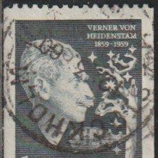 Sellos: SUECIA 1959 SCOTT 542 SELLO º CARL GUSTAF VERNER VON HEIDENSTAM (1859-1940) MICHEL 450C YVERT 441. Lote 243617195