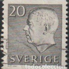 Sellos: SUECIA 1961 SCOTT 572 SELLO º KING GUSTAV VI ADOLF MICHEL 469A YVERT 462 SWEDEN STAMPS TIMBRE SUÈDE. Lote 243618895
