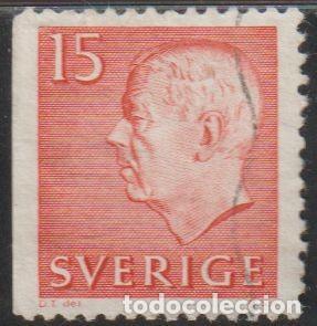 SUECIA 1961 SCOTT 581 SELLO º KING GUSTAV VI ADOLF MICHEL 468DL YVERT 460A SWEDEN STAMPS TIMBRE (Sellos - Extranjero - Europa - Suecia)
