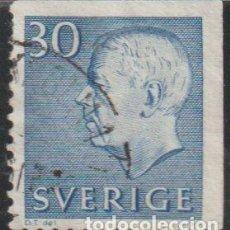 Sellos: SUECIA 1961 SCOTT 584 SELLO º KING GUSTAV VI ADOLF MICHEL 470ERO YVERT 464A SWEDEN STAMPS TIMBRE. Lote 243619235