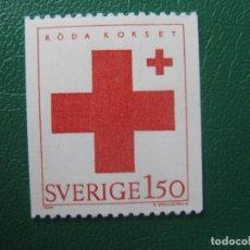Sellos: SUECIA, 1983, CRUZ ROJA, YVERT 1233. Lote 245084170