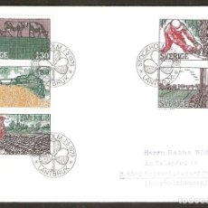 Selos: SUECIA.1979. SPD/FDC. AÑO DEL CAMPESINO.. Lote 250312470