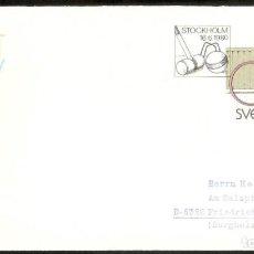 Sellos: SUECIA.1980. CARTA POSTAL. JUEGOS INFANTILES.. Lote 250320745