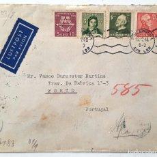 Sellos: SOBRE OCUPACION SUECIA. 1943. CENSURA NAZI.. Lote 253797880
