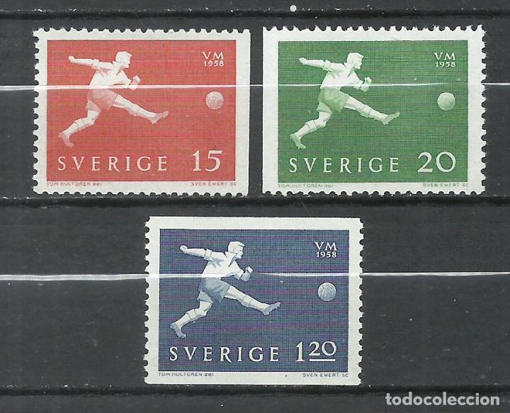SUECIA - 1958 - MICHEL 438DR+439DL+440** MNH (Sellos - Extranjero - Europa - Suecia)
