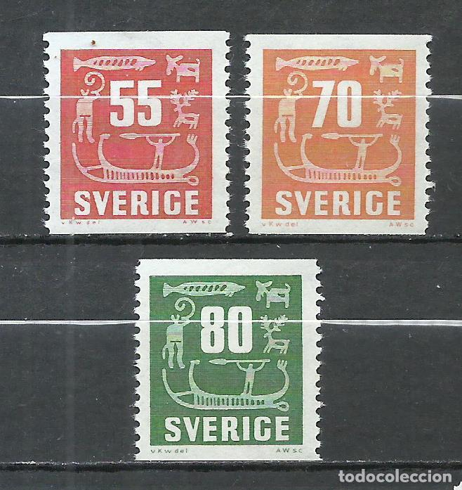 SUECIA - 1957 - MICHEL 431/433** MNH (Sellos - Extranjero - Europa - Suecia)