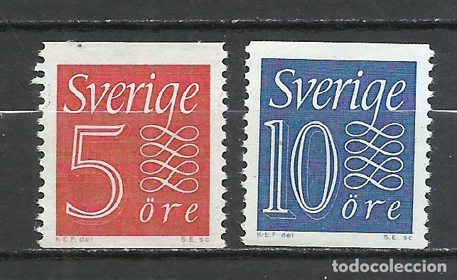 SUECIA - 1957 - MICHEL 429/430** MNH (Sellos - Extranjero - Europa - Suecia)