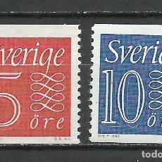 Sellos: SUECIA - 1957 - MICHEL 429/430** MNH. Lote 257634190