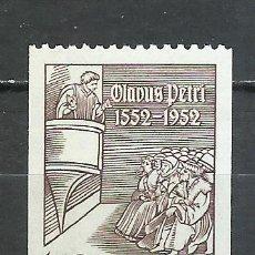 Sellos: SUECIA - 1952 - MICHEL 368** MNH. Lote 257634935