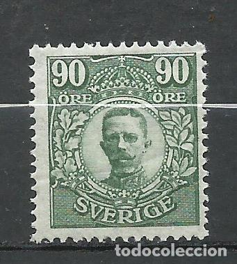 SUECIA - 1911 - MICHEL 82** MNH (Sellos - Extranjero - Europa - Suecia)