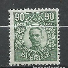 Sellos: SUECIA - 1911 - MICHEL 82** MNH. Lote 257635775