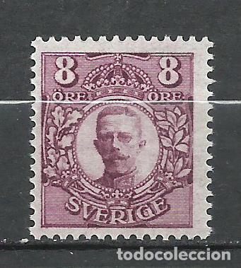 SUECIA - 1911 - MICHEL 70** MNH (Sellos - Extranjero - Europa - Suecia)