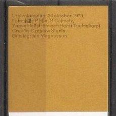 Sellos: SUECIA.1973. CARNET .C802. Lote 262724340