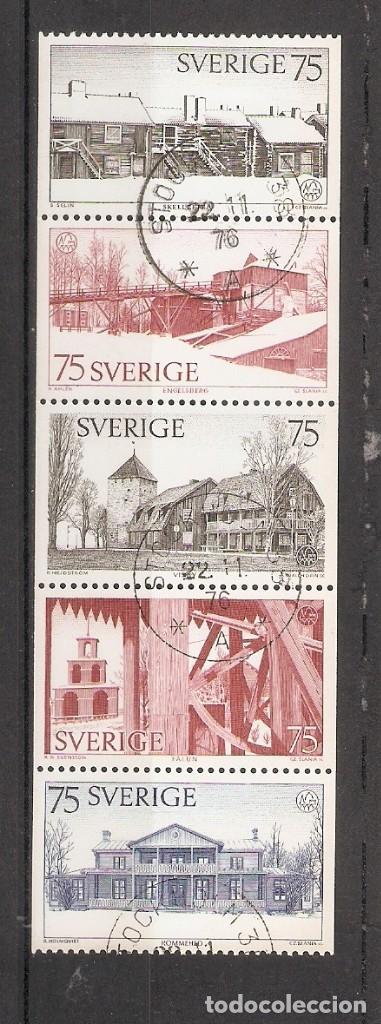 SUECIA.1975. YT 887/891 (Sellos - Extranjero - Europa - Suecia)