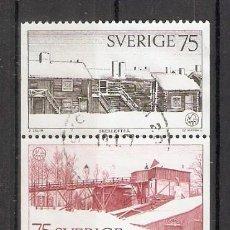 Sellos: SUECIA.1975. YT 887/891. Lote 262726030