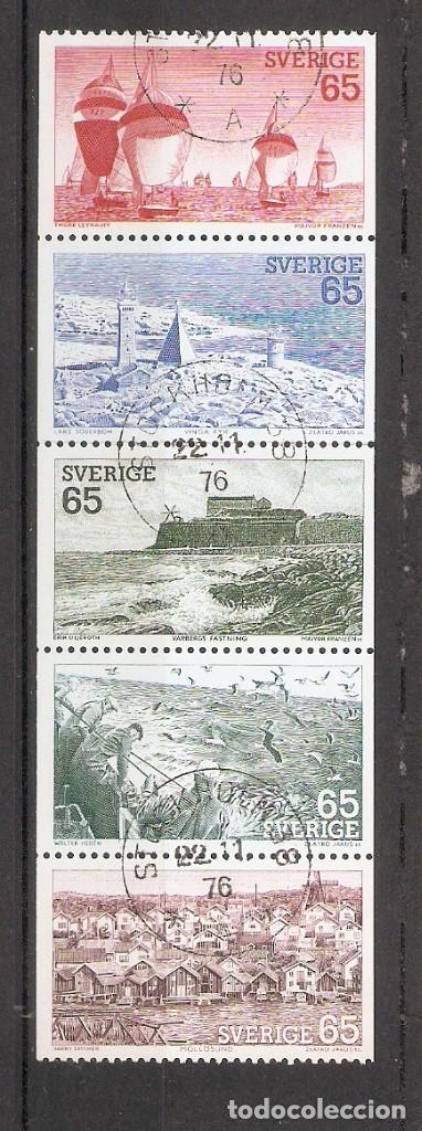 SUECIA.1974. YT 833/837 (Sellos - Extranjero - Europa - Suecia)