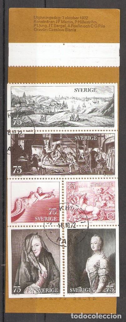 SUECIA.1972. CARNET. C749 (Sellos - Extranjero - Europa - Suecia)