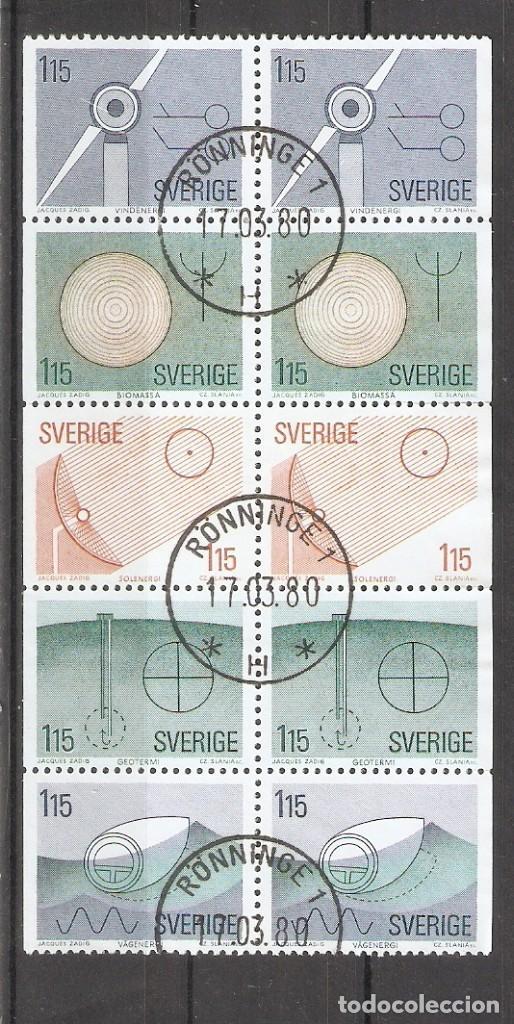 SUECIA.1980. TIRA DE CARNET. C1078 (Sellos - Extranjero - Europa - Suecia)