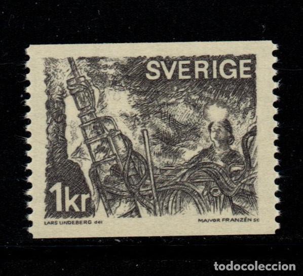 SUECIA 664** - AÑO 1970 - EXPLOTACION MINERA (Sellos - Extranjero - Europa - Suecia)